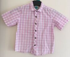 Boys Checked Light Pink Next Shirt Size 3-4 Years