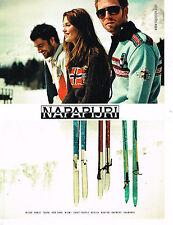 PUBLICITE ADVERTISING 025  2008  NAPAPIJIRI  vetements de ski anorak