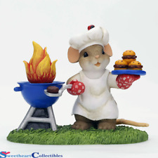 Charming Tails 4039553 King Of The Grill Nib