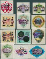 Tonga 1980 SG769-O216 Surcharges FDI FU