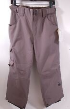 2015 NWT BOYS RIDE CHARGER SNOWBOARD PANTS $110 M gray storm youth kids