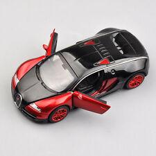 1:32 Bugatti Veyron Model Car Toys Kid Gift Alloy Diecast Minicar w/light&sound