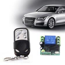 12V Relay  1-CH 433MHZ Wireless Remote Control Switch Receiver Board w/Remote