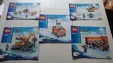 LEGO CITY!!! Istruzioni solo!!! per Campo base artica 60036