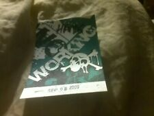 Motley Crue Backstage Pass New and Unused 2009Tour