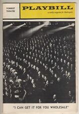 """Larry Kert  Playbill  """"I Can Get It For You Wholesale"""" 1962  Philadelphia"""