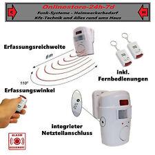 Alarmanlage Schutzanlage ALARM mobil nutzbar Batteriebetrieb FUNK wireless NEU