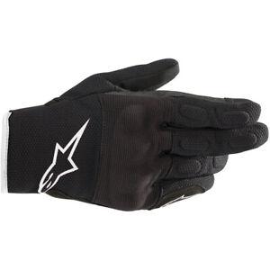 Alpinestars Stella Womans S Max Drystar Motorcycle Motorbike Gloves Black White