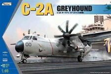 BRAND NEW Kinetic 48025 1/48 C-2A Greyhound Twin-Engine Cargo Aircraft Model Kit