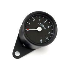 Mini Drehzahlmesser elektronisch, Schwarz, 60mm, für Harley-Davidson