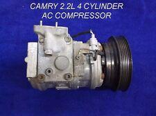 1986 - 2001 TOYOTA CAMRY A/C COMPRESSOR FOR 2.2 LITER 4 CYLINDER ENGINES OEM