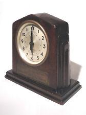 Vintage Art Deco Desk Clock General Motors Service Award
