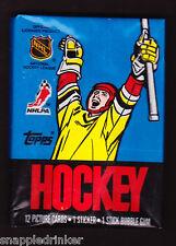 1988-89 Topps Hockey Unopened Wax Pack