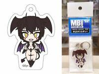 """Metal Boy Goods Acrylic Keychain Devil Lady 1.7"""" Go Nagai Dynamic Plan Licensed"""