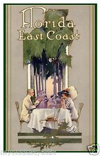 Florida East Coast Railway 1912 Poster  8 x 12