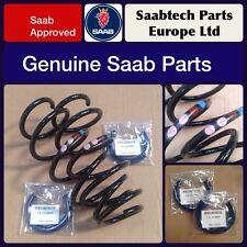 GENUINE SAAB 9-3 2003-2012 FRONT SPRINGS 1.9DT & 1.9DTH DIESEL - NEW - 93190610