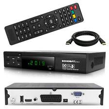 HD SAT Receiver Echosat Digital mit HDMI und SCART Full HDTV USB 1080p Tuner