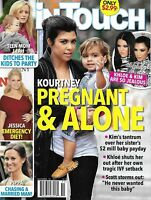 In Touch Magazine Kourtney Kardashian Teen Mom Jessica Simpson Pippa Middleton