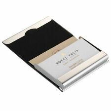 Men's Pocket Stainless Steel & Metal Business Card Holder Case ID Credit Wallet