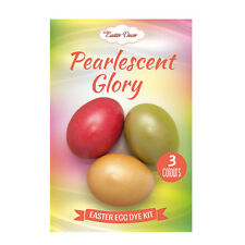Easter Egg Dye Kit Amazing Orthodox Egg Decor Pearlescent Glory, Green Red Gold