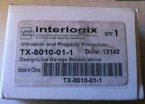 Brand New Interlogix TX-8010-01-1 DesignLine Garage Door Sensor