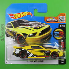 HOT WHEELS 2016 -  ´13 Ford Mustang GT  - HW Mild to Wild  -  65  - neu in OVP