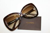 TOM FORD TF 277 52F JADE HAVANA GRADIENT AUTHENTIC SUNGLASSES FT277 60 MM