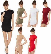 Regular Size Solid Casual Shirt Dresses for Women