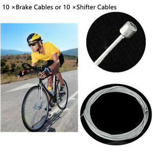 10pcs Fahrradbremse Inner Wire Cable Line Set for Front Rear Road MTB Bike Break