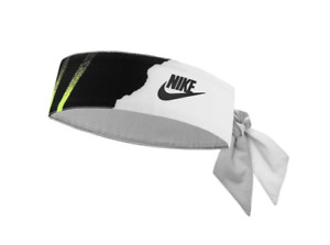 RARE Nike Andre Agassi Challenge Court Bandana - 2020 Release - Turquoise / Lime