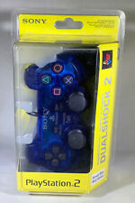 NEW Sony DualShock 2 (97063) Controller Gamepad Ocean Blue PS2 FACTORY SEALED