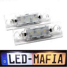 2x Skoda Superb I 3U / Oktavia I 1U - LED License Plate Light Module - 6000K