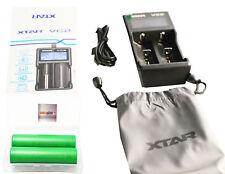 2x Sony 18650 VTC6 + Xtar VC2 intelligentes Ladegerät für Kangertech Topbox Mini
