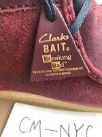 Clarks Wallabee Boot BAIT x Breaking Bad Felina Red 11 M BNIB