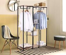 Aufhänger Kleiderständer Wäscheständer Kleiderschrank mit Ablage Schuhregal Woer