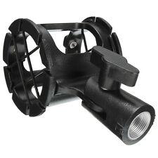 Top Universal Shotgun Microphone Mic Suspension Shock Mount Pencil Clamp Holder