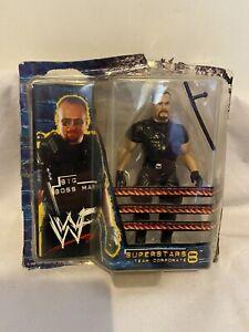 WWF WWE Jakks Pacific Superstars Series 8 - Team Corporate (1999) BIG BOSS MAN