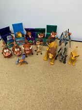 Disney Lion King Lot 14 Figures Toy vintage moving parts Mattel