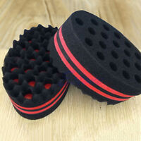 WR_ Hair Small Wave Twists Magic Sponge Brush for Locking Coil Afro Curl Tool Lu