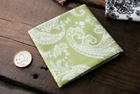 Handmade Mens Pocket Square Floral100/% Cotton handkerchief Wedding Gift N