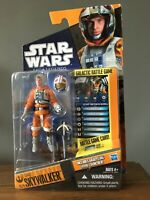Star Wars Saga Legends SL21 Snowspeeder Pilot Luke Skywalker Figure Hasbro