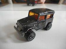 "Majorette 4x4 Toyota Jeep ""Raid 86"" in Black"