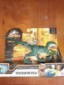 Velociraptor Delta Savage Strike  - Mattel Jurassic World Figure Figurine