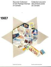 Souvenir Collection Of The Postage Stamps Of Canada 1987 - Stamps Not Included