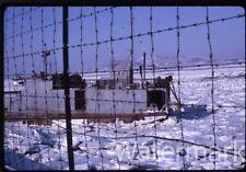 1963  kodachrome Photo slide  Korea  ship   ice water  RK22