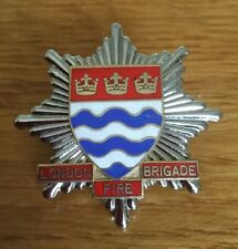 An old original, London Fire Brigade, cap badge. 3 Crowns.