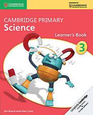 Cambridge Primary Science Stage 3 Learner's Book (Cambridge International Examin
