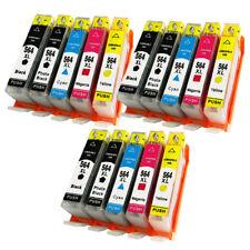 15pk for HP 564 XL Ink Cartridges Set Pack PhotoSmart Plus B209c B210 Printer