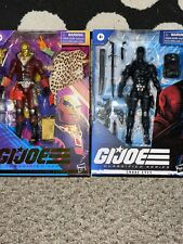 Hasbro GI JOE Classified Series Profit Director Destro &Snake EYES Lot