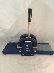 REMP #3-18-06163 Manual Capper Press